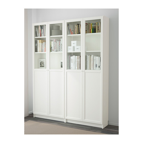 OXBERG/BILLY - bookcase, white | IKEA Hong Kong and Macau - PE600866_S4