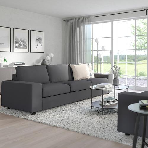 VIMLE - 三座位梳化, 有寬闊扶手/Hallarp 灰色 | IKEA 香港及澳門 - PE801418_S4