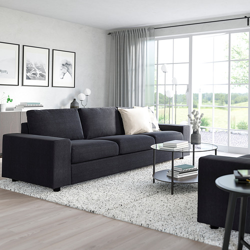VIMLE - 三座位梳化床, 有寬闊扶手/Saxemara 藍黑色 | IKEA 香港及澳門 - PE801419_S4
