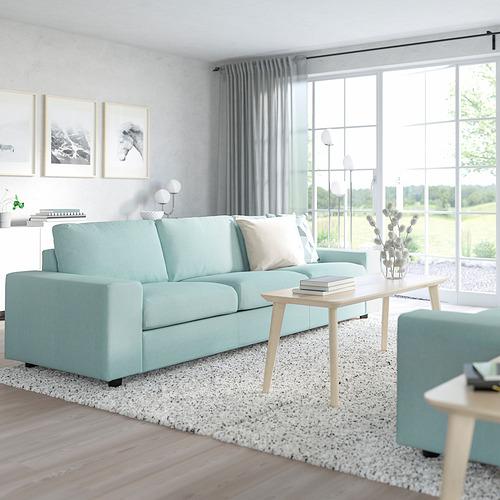 VIMLE - 三座位梳化床, 有寬闊扶手/Saxemara 淺藍色 | IKEA 香港及澳門 - PE801423_S4