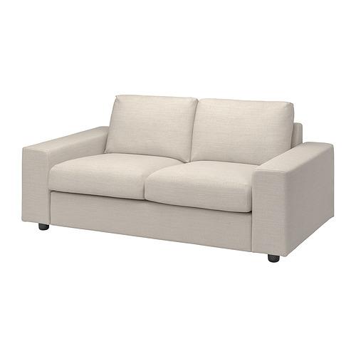 VIMLE - 兩座位梳化布套, 有寬闊扶手/Gunnared 米黃色   IKEA 香港及澳門 - PE801435_S4