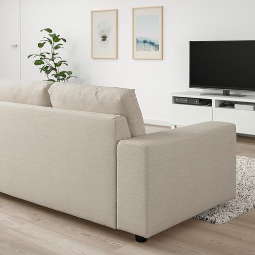 VIMLE - 兩座位梳化床, 有寬闊扶手/Gunnared 米黃色 | IKEA 香港及澳門 - PE801436_S4