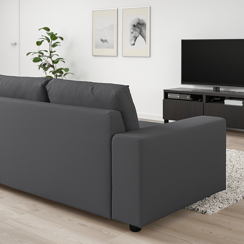 VIMLE - 兩座位梳化, 有寬闊扶手/Hallarp 灰色 | IKEA 香港及澳門 - PE801443_S4