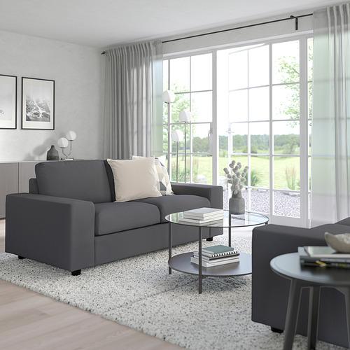 VIMLE - 兩座位梳化, 有寬闊扶手/Hallarp 灰色 | IKEA 香港及澳門 - PE801444_S4