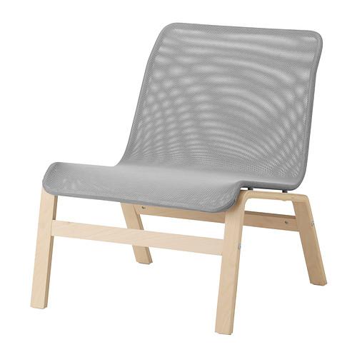 NOLMYRA - easy chair, birch veneer/grey | IKEA Hong Kong and Macau - PE310348_S4