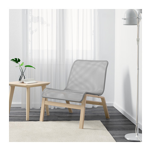 NOLMYRA - easy chair, birch veneer/grey | IKEA Hong Kong and Macau - PE600883_S4