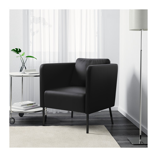 EKERÖ - armchair, Kimstad black | IKEA Hong Kong and Macau - PE600907_S4