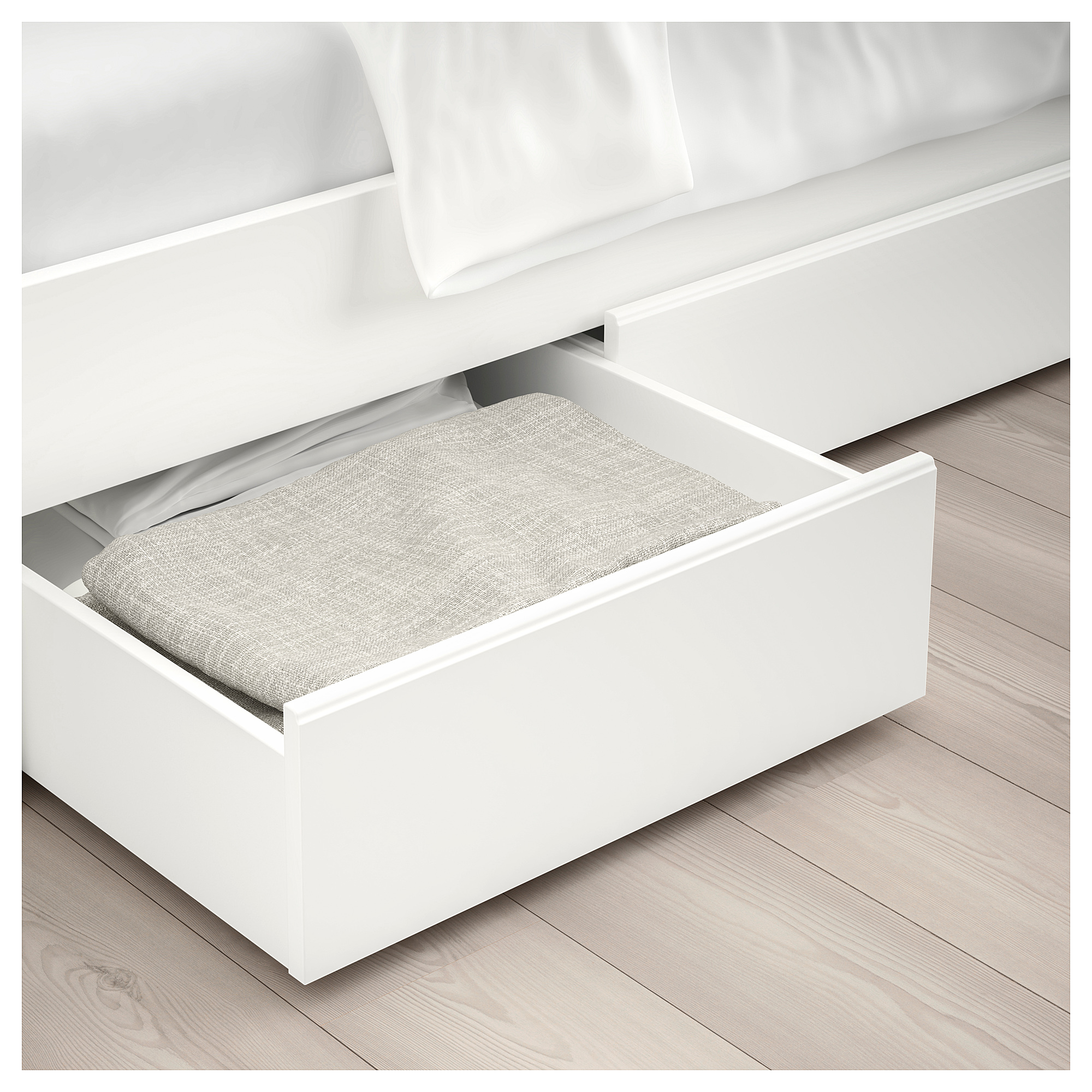pretty nice 6402d f1bbf SONGESAND - bed frame with 2 storage boxes, single | IKEA ...