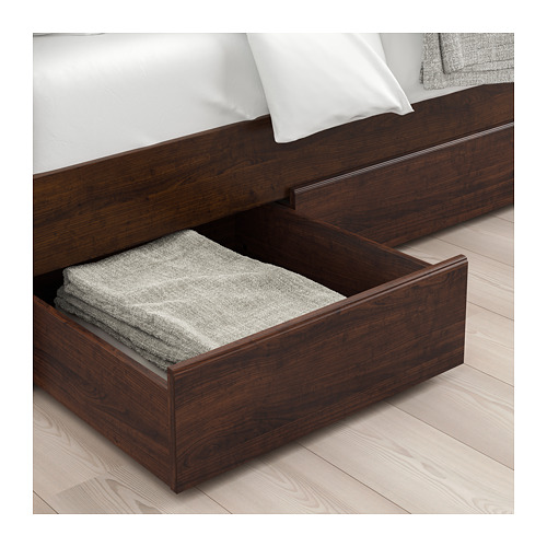 SONGESAND - bed frame with 2 storage boxes, luröy, double | IKEA Hong Kong and Macau - PE674427_S4