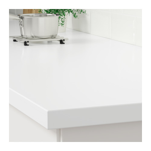 LAXNE - 訂造檯面, 白色 亞加力膠 | IKEA 香港及澳門 - PE710199_S4