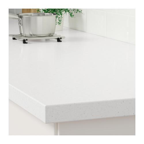 LAXNE - 訂造檯面, 白色/黑色 仿礦石紋/亞加力膠 | IKEA 香港及澳門 - PE710192_S4