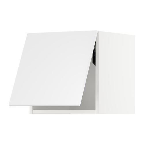 METOD - wall cabinet horizontal w push-open, white/Kungsbacka matt white | IKEA Hong Kong and Macau - PE707258_S4
