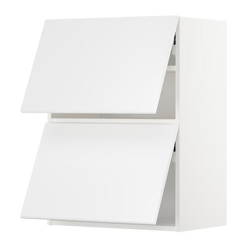 METOD - wall cabinet horizontal w 2 doors, white/Kungsbacka matt white | IKEA Hong Kong and Macau - PE707261_S4
