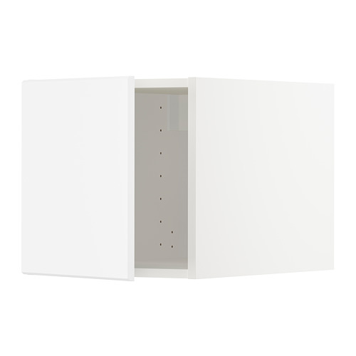 METOD - top cabinet, white/Kungsbacka matt white | IKEA Hong Kong and Macau - PE707268_S4