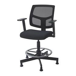GARKA - swivel chair, Vissle black | IKEA Hong Kong and Macau - PE747309_S3