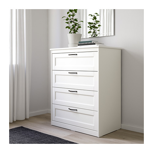 SONGESAND - chest of 4 drawers, white | IKEA Hong Kong and Macau - PE658932_S4