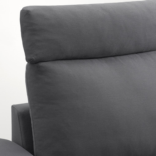 VIMLE - 三座位梳化, 連頭枕 有寬闊扶手/Hallarp 灰色 | IKEA 香港及澳門 - PE801563_S4