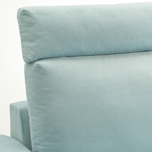 VIMLE - 三座位梳化, with headrest with wide armrests/Saxemara light blue   IKEA 香港及澳門 - PE801566_S4