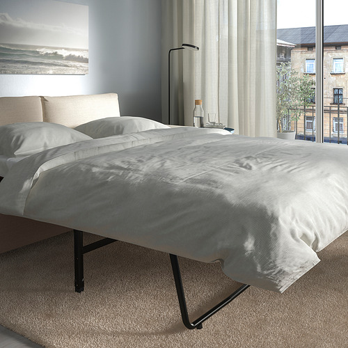 VIMLE - 兩座位梳化床, 有寬闊扶手/Gunnared 米黃色 | IKEA 香港及澳門 - PE801606_S4
