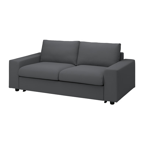 VIMLE - 兩座位梳化床布套, 有寬闊扶手/Hallarp 灰色 | IKEA 香港及澳門 - PE801603_S4