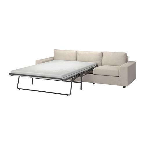 VIMLE - 三座位梳化床, 有寬闊扶手/Gunnared 米黃色   IKEA 香港及澳門 - PE801642_S4