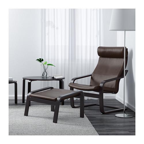 POÄNG - 扶手椅, 棕黑色/Glose 深褐色 | IKEA 香港及澳門 - PE601094_S4