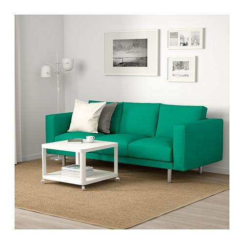 NORSBORG - 3-seat sofa, Edum bright green/metal   IKEA Hong Kong and Macau - PE659374_S4