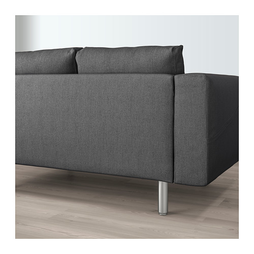 NORSBORG - 兩座位梳化, Finnsta 深灰色/金屬 | IKEA 香港及澳門 - PE659385_S4