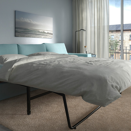VIMLE - 三座位梳化連躺椅, with wide armrests/Saxemara light blue | IKEA 香港及澳門 - PE801654_S4