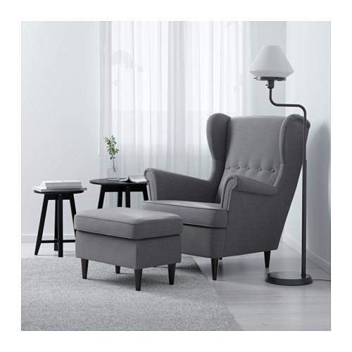 STRANDMON - 扶手椅, Nordvalla 深灰色 | IKEA 香港及澳門 - PE601178_S4