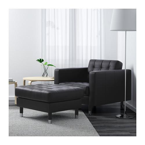 LANDSKRONA - armchair, Grann/Bomstad black/metal   IKEA Hong Kong and Macau - PE601200_S4