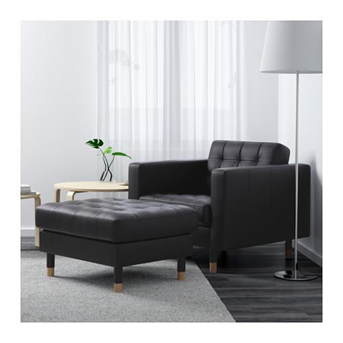 LANDSKRONA - armchair, Grann/Bomstad black/wood | IKEA Hong Kong and Macau - PE601204_S4