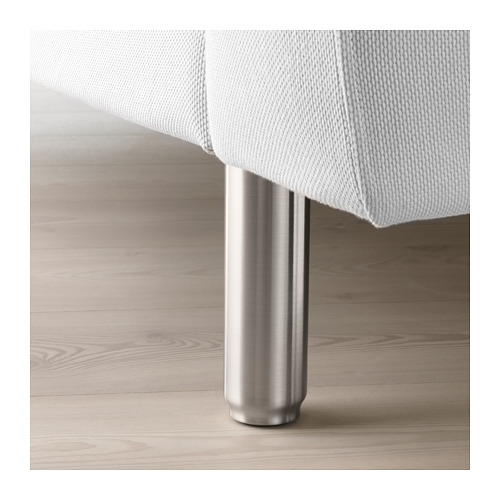NORSBORG - 4-seat sofa, with chaise longues/Finnsta white/metal | IKEA Hong Kong and Macau - PE659386_S4