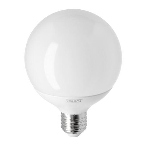LEDARE - LED bulb E27 1055 lumen, warm dimming/globe opal white | IKEA Hong Kong and Macau - PE747424_S4