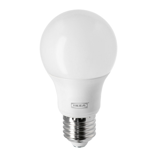 LEDARE - LED bulb E27 806 lumen, warm dimming/globe opal white | IKEA Hong Kong and Macau - PE747430_S4