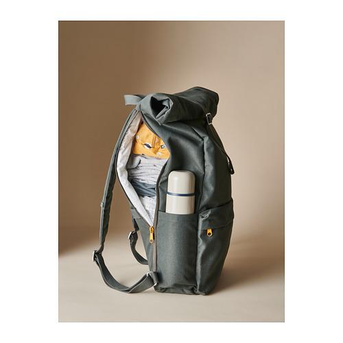DRÖMSÄCK - 背囊, 橄欖綠色 | IKEA 香港及澳門 - PH168614_S4