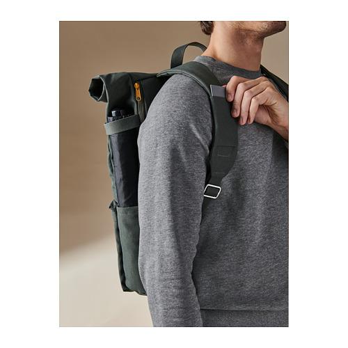 DRÖMSÄCK - 背囊, 橄欖綠色 | IKEA 香港及澳門 - PH168599_S4