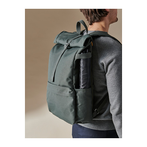 DRÖMSÄCK - 背囊, 橄欖綠色 | IKEA 香港及澳門 - PH168598_S4