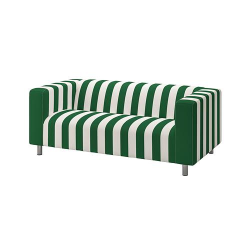 KLIPPAN - 2-seat sofa, Radbyn green/white | IKEA Hong Kong and Macau - PE780022_S4