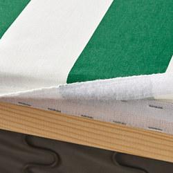 KLIPPAN - cover for 2-seat sofa, Radbyn green/white | IKEA Hong Kong and Macau - PE780023_S3