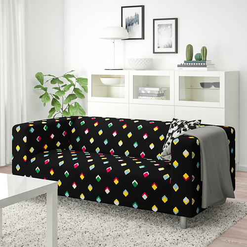 KLIPPAN - 2-seat sofa, Rotebro multicolour | IKEA Hong Kong and Macau - PE780030_S4
