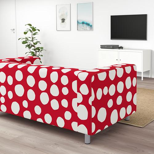 KLIPPAN - 2-seat sofa, Storvreta red/white | IKEA Hong Kong and Macau - PE780032_S4