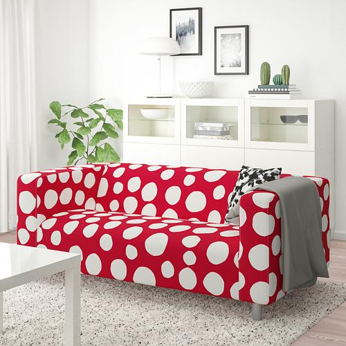 KLIPPAN - 2-seat sofa, Storvreta red/white | IKEA Hong Kong and Macau - PE780035_S4