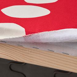 KLIPPAN - 兩座位梳化布套, Storvreta 紅色/白色 | IKEA 香港及澳門 - PE780034_S3