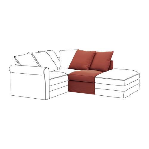 GRÖNLID - 單座位梳化, Ljungen 淺紅色 | IKEA 香港及澳門 - PE780038_S4