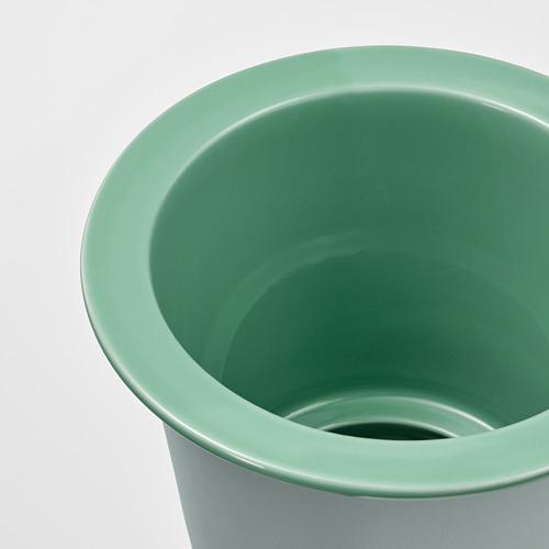 FNITTRIG - 花盆, 室內/戶外用 綠色   IKEA 香港及澳門 - PE804295_S4