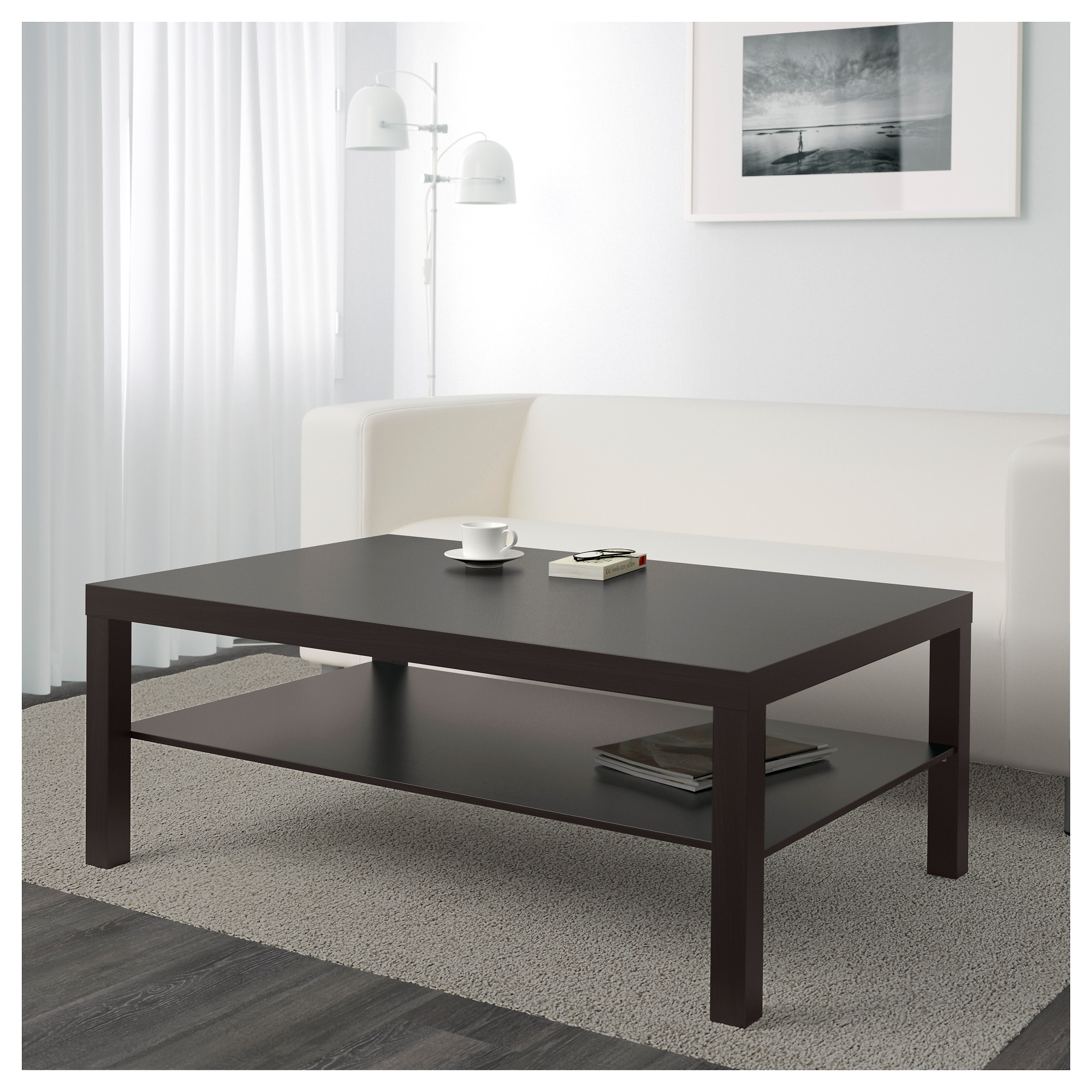 - LACK - Coffee Table, Black-brown IKEA Hong Kong