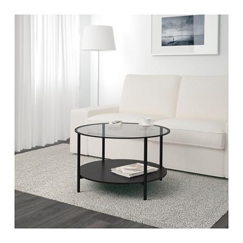 VITTSJÖ - 茶几, 棕黑色/玻璃 | IKEA 香港及澳門 - PE601386_S4