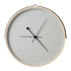 ROTBLÖTA - 掛牆鐘, 梣木飾面/淺灰色 | IKEA 香港及澳門 - PE747443_S3