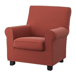 GRÖNLID - 扶手椅, Ljungen 淺紅色 | IKEA 香港及澳門 - PE780046_S3